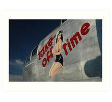 Take Off Time Art Print