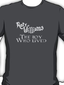Rory Williams, The Boy Who Lived T-Shirt