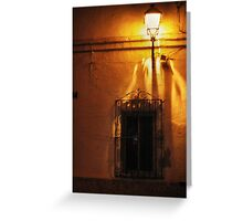 One night in Spain Greeting Card