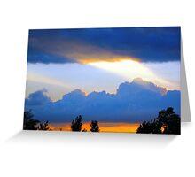 Inspirational Sunset Greeting Card