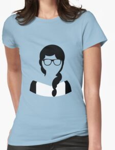 Geeky Hipster Princess Nerdy Glasses T-Shirt
