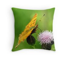 The Comma Throw Pillow