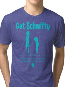 Get Schwifty 2015 Intergalactic Tour Tri-blend T-Shirt