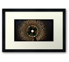 there's no light in the tunnel, no irons on the fire Framed Print