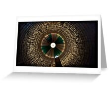 there's no light in the tunnel, no irons on the fire Greeting Card