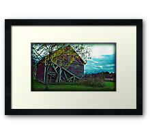 they remind me houses are just made of wood Framed Print