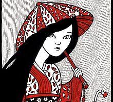 Blossom Rain by Anita Inverarity