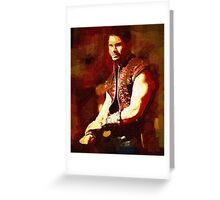 Ares - God of War I Greeting Card