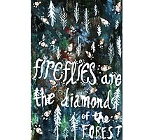 Firefly Diamonds Photographic Print
