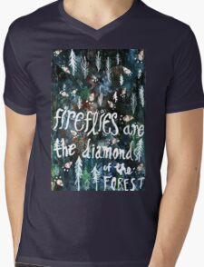 Firefly Diamonds Mens V-Neck T-Shirt