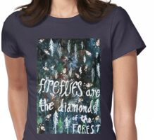 Firefly Diamonds Womens Fitted T-Shirt