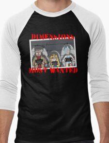 Dimensions Most Wanted Men's Baseball ¾ T-Shirt