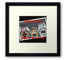 Dimensions Most Wanted Framed Print