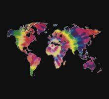 Tye Dye World  by Band-Prints