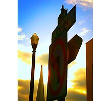 San Francisco's Meeting Place Photographic Print