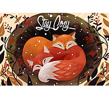 Stay Cozy Photographic Print