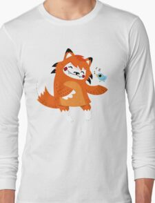 the fox and the bird Long Sleeve T-Shirt