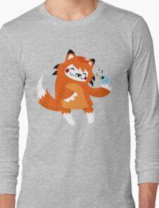 the fox and the bird Long Sleeve T-Shirt