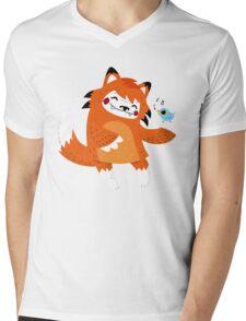 the fox and the bird Mens V-Neck T-Shirt