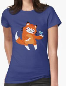 the fox and the bird Womens Fitted T-Shirt