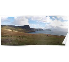 Neist Point most Westerly point on the Isle of Skye Poster