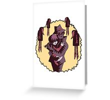 Father Shadow Greeting Card