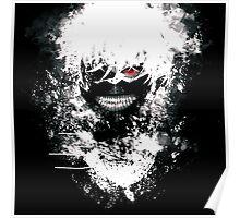 Painted Kaneki Tokyo Ghoul Poster
