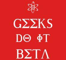 Geeks Do It Beta One Piece - Short Sleeve