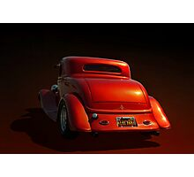 """1934 Ford """"Metallic"""" Coupe Photographic Print"""