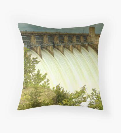 Tablerock Dam Throw Pillow