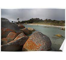 Tasmanian Rocks Poster