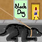 Black Dog by mordechai