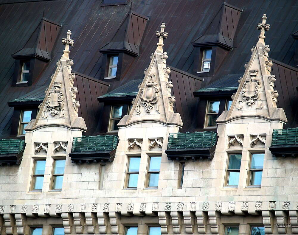 Chateau Laurier, Ottawa, Ontario, Canada by vette
