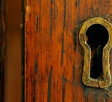 Antique Brass Lock by mollymort