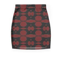 Playful Cub: Pattern  Mini Skirt