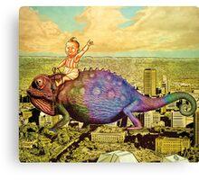 The Big Trip (landscape) Canvas Print