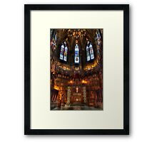 Thistle Chapel Framed Print