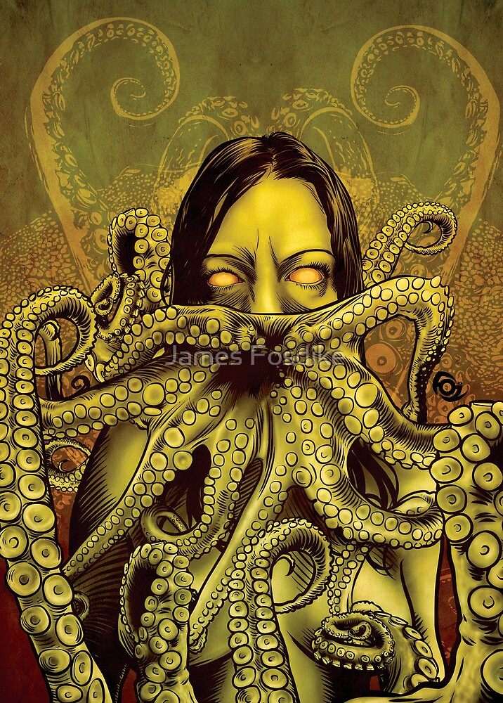 Cthulhu Girl by James Fosdike