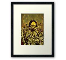 Cthulhu Girl Framed Print