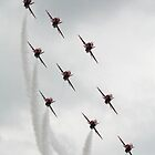 Red Arrows Diamond Nine by SWEEPER