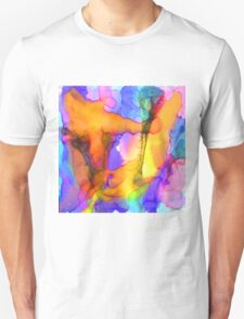 1 Art Abstract Watercolor Modern Prints by Robert R (Erod Art) T-Shirt