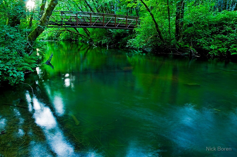 Over The Bridge And Through The Woods by Nick Boren