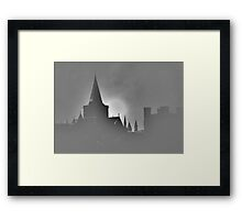 Through the mists of time  Framed Print