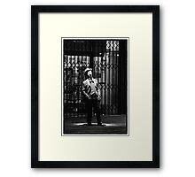 Legend in Hindley Street Framed Print