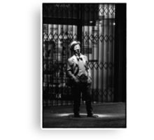 Legend in Hindley Street Canvas Print