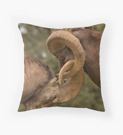 Hooked on you Throw Pillow