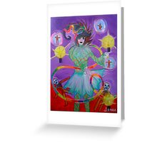 The Fool - My Witch Tarot Set Greeting Card