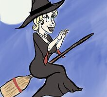 Witchy Flight by Grace Shanahan