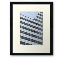 Window Panes Framed Print