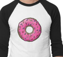 The Simpsons - Doughnut Men's Baseball ¾ T-Shirt